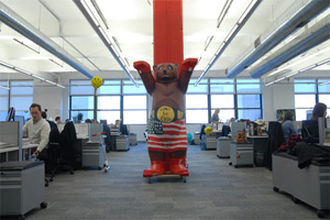 New York offices of Google