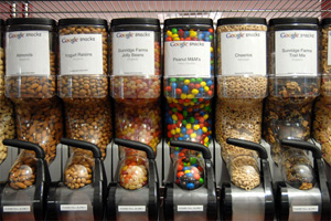 Google snack stations