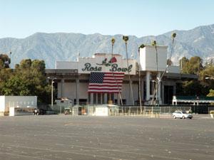 Rose Bowl Parking Lot