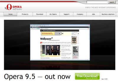 Opera 9.5